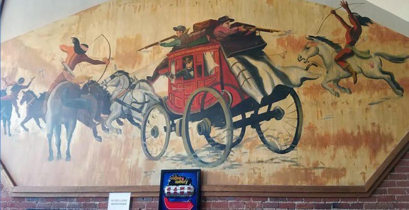 Wells Fargo stagecoach shooting Native Americans (Jacksonville, Oregon)