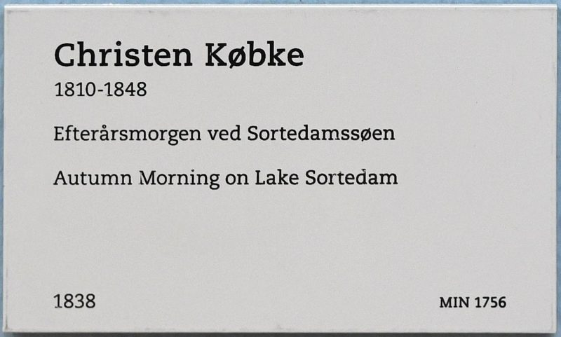 sortedams so art copenhagen Efterårsmorgen ved Sortedamssøen
