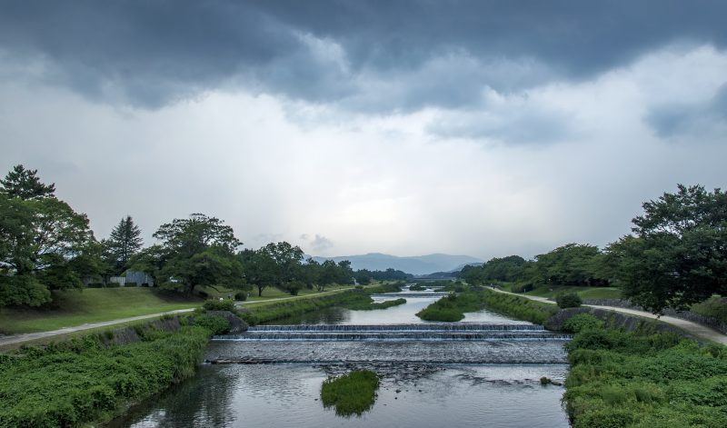 kyoto takano kamo river