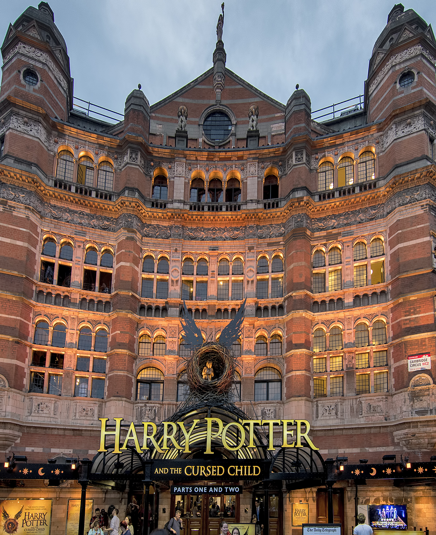 harry potter and the cursed child london Palace Theatre