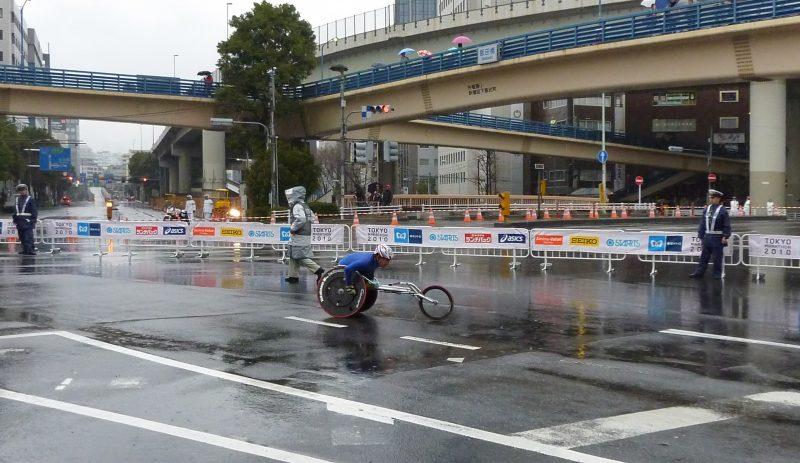 tokyo marathon wheelchair 車いすマラソン