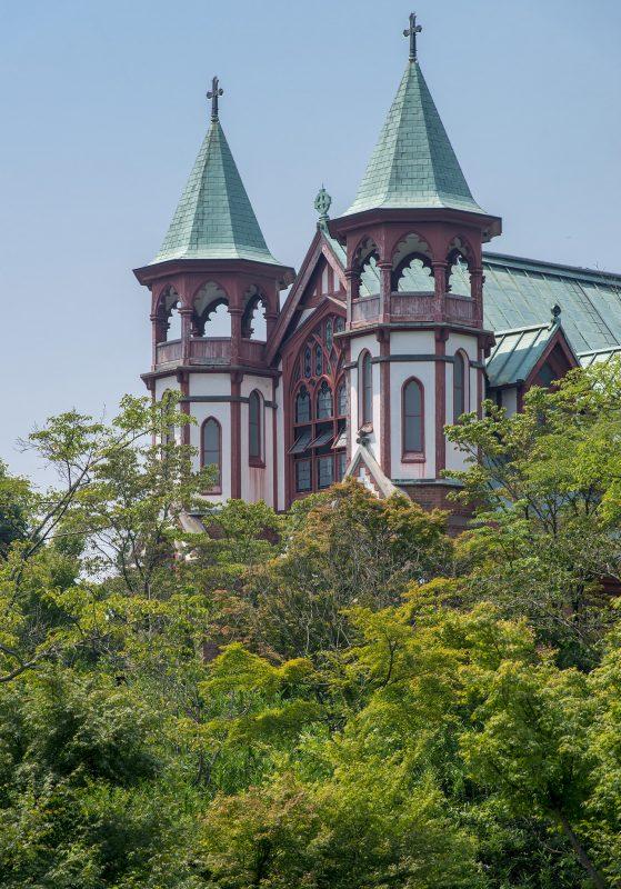 Meiji Mura's St. John's Church from Kyoto 1907