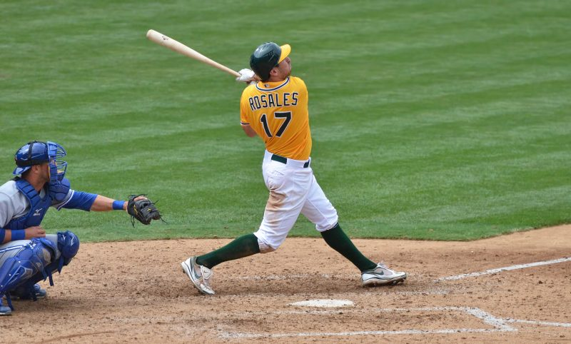 adam rosales oakland as