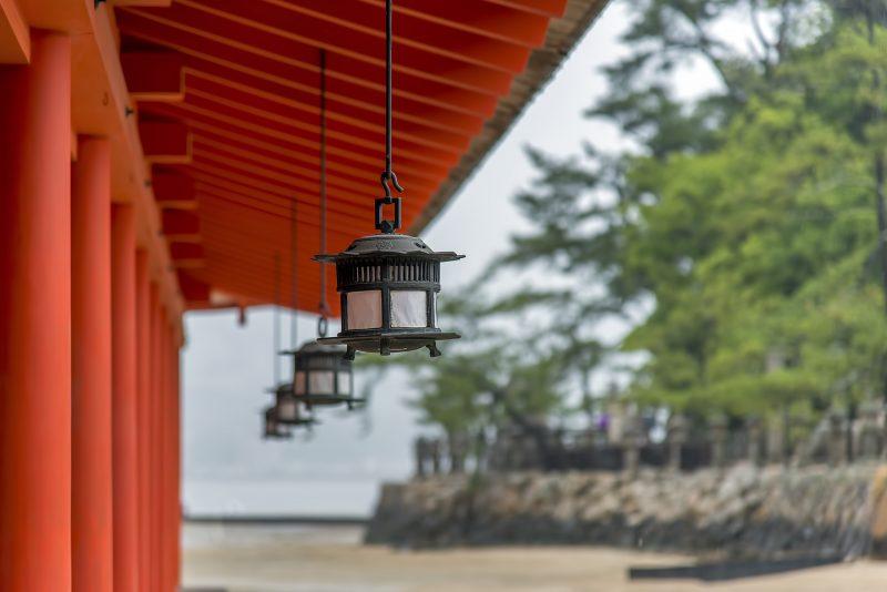 厳島神社 itsukushima jinja miyajima lantern