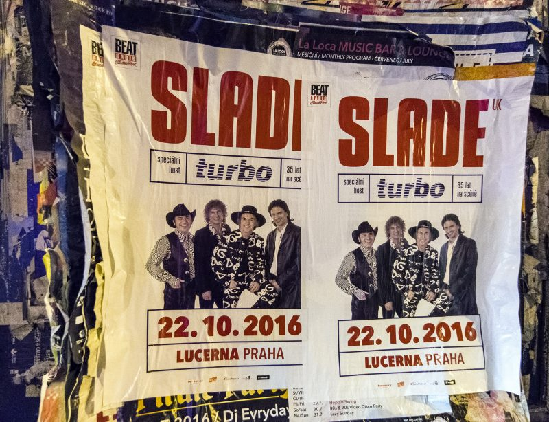 slade uk prague