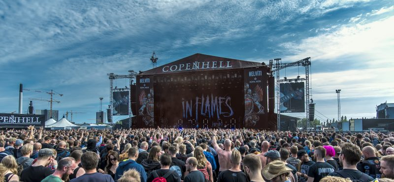 copenhell in flames