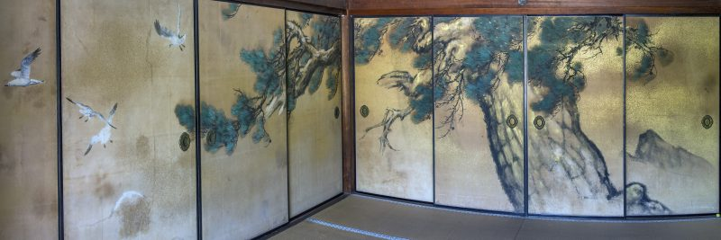 4-photo photomerge shoji panels paper screens art ninnaji