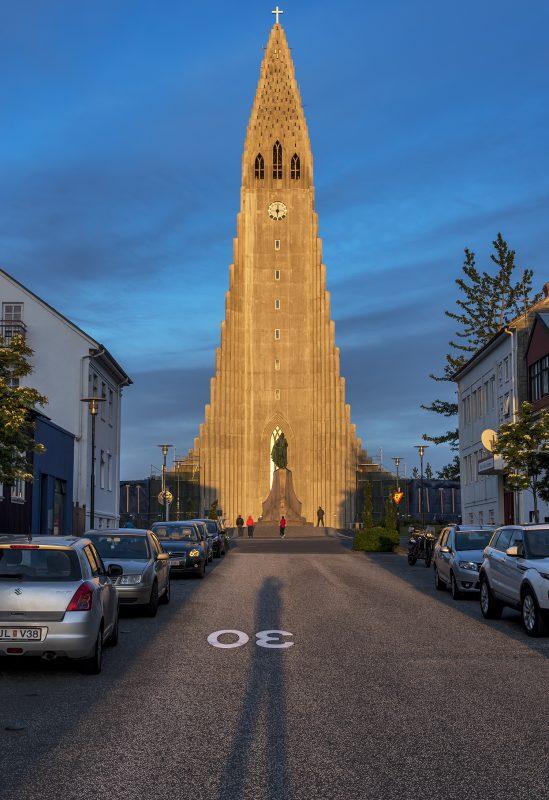 Hallgrímskirkjar Reykjavík Iceland