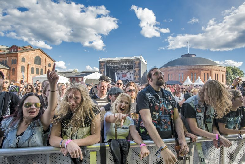 gefle metal festival crowd sanctuary