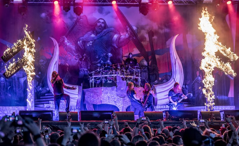gefle metal festival amon amarth