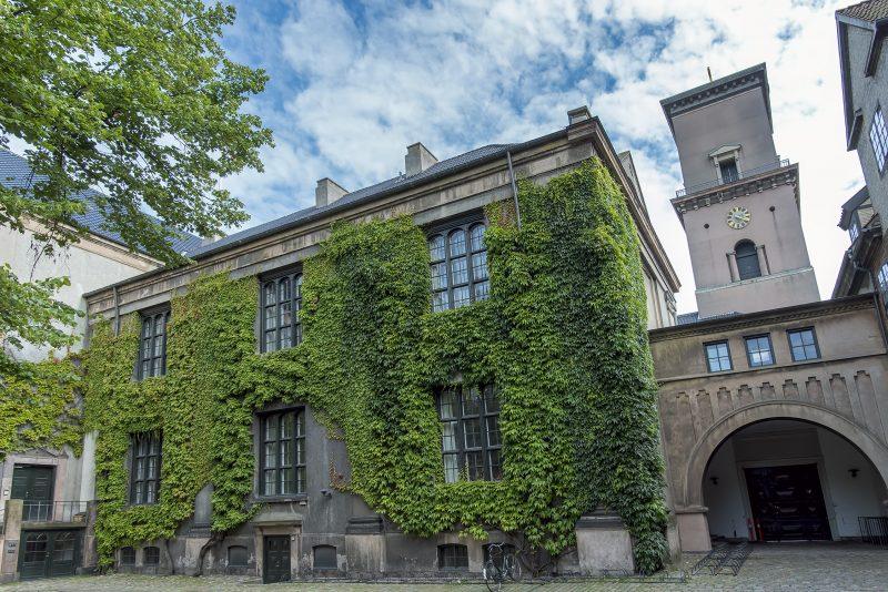 University of Copenhagen denmark courtyard Københavns Universitet