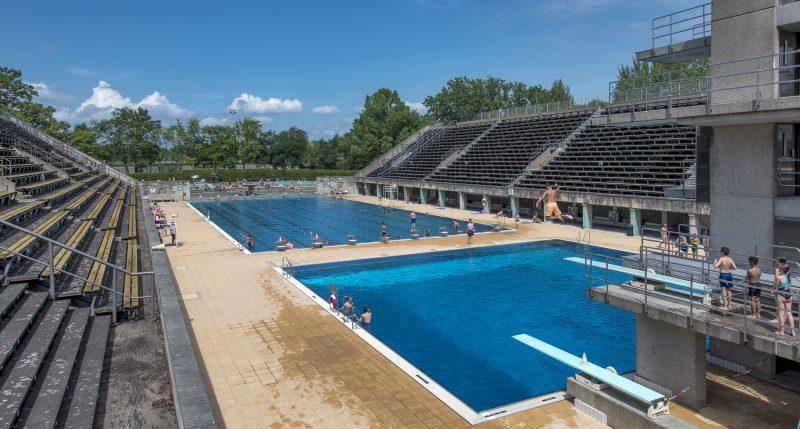 Olympiapark Schwimmstadion Berlin Olympic Swim Stadium