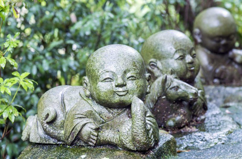 jizo snake statue japan