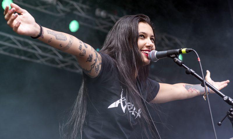 nervosa gefle metal festival fernanda lira