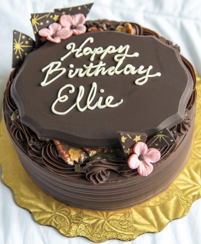 happy birthday ellie cake sweet life patisserie