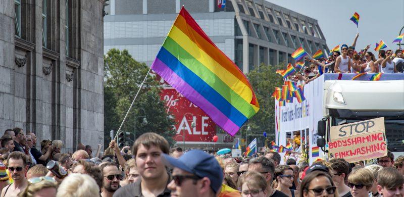 Berlin Gay Pride CSD Christopher Street Day parade