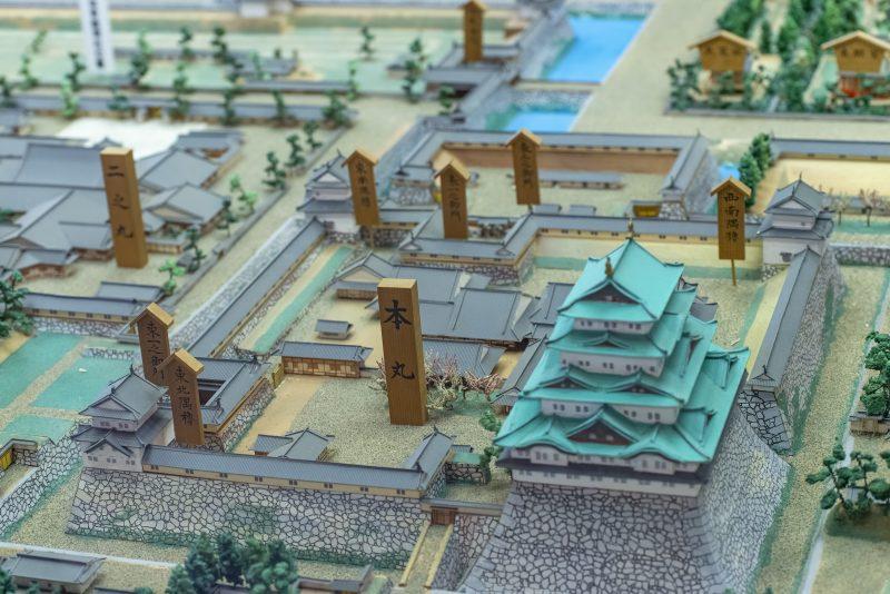 nagoya castle model