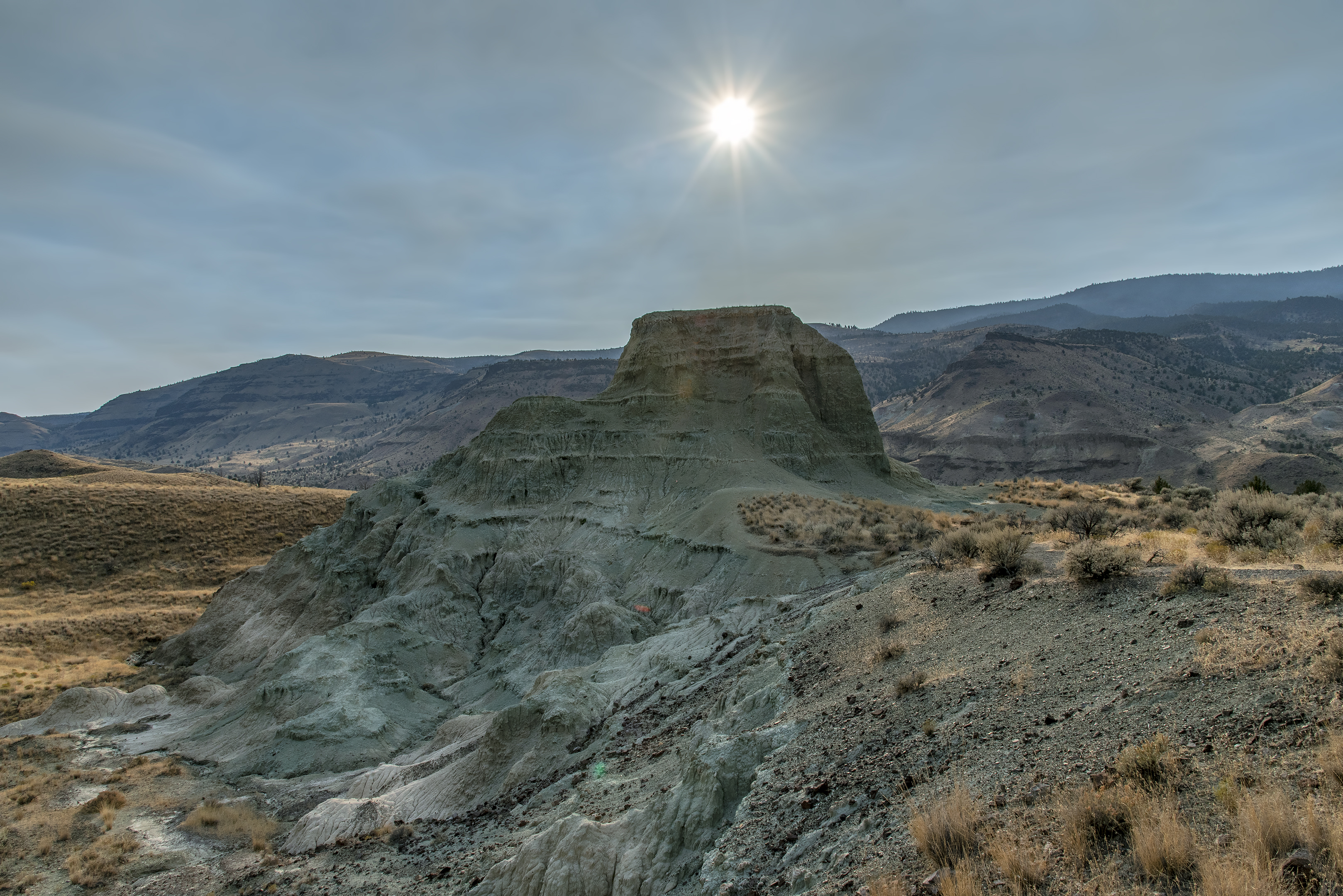 blue basin overlook trail john day fossil beds