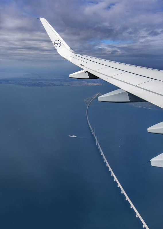 Oresund Bridge aerial
