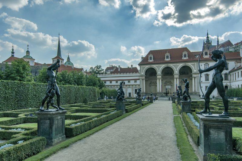 czech garden praha prague wallenstein