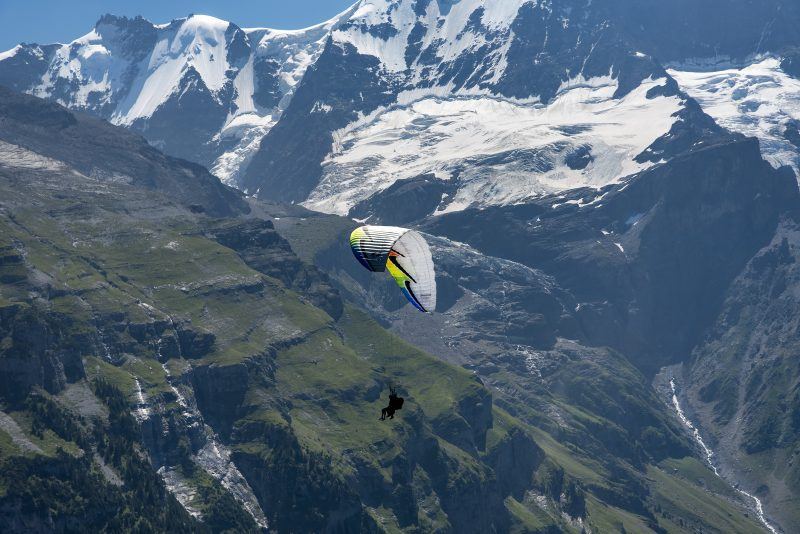 Paragliding Mürren