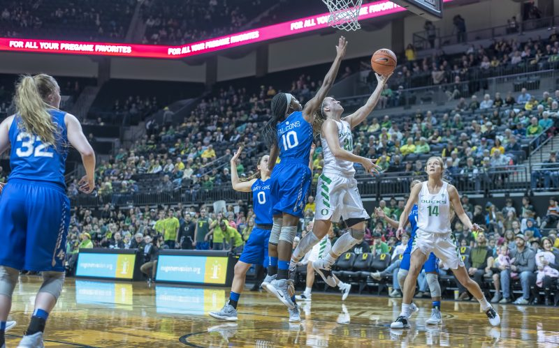 oregon womens basketball Sabrina Ionescu