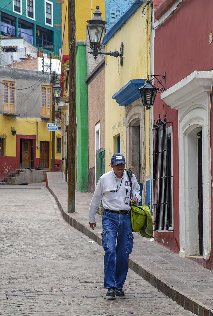 Guanajuato mailman mexico