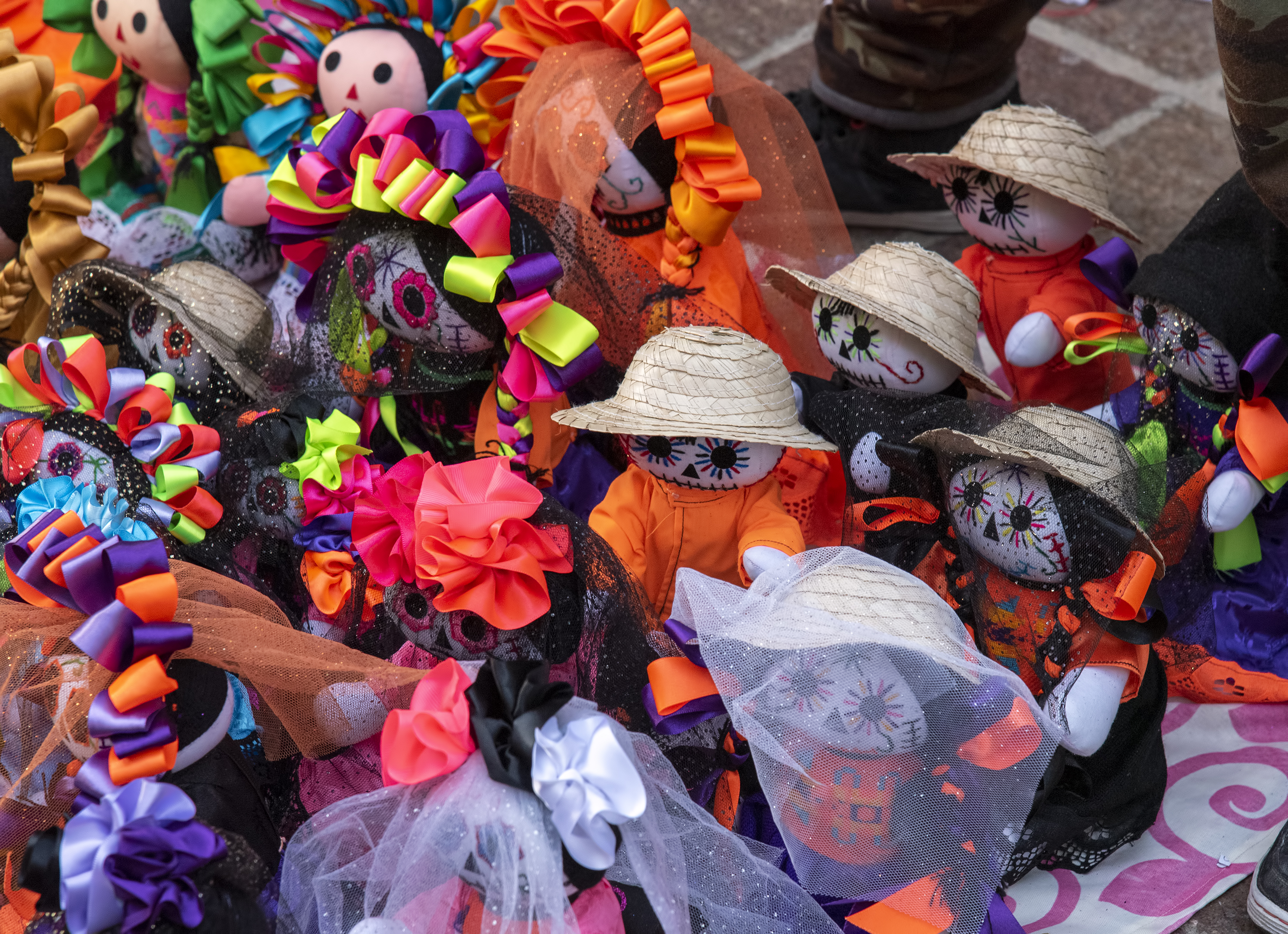guanajuato day of the dead dolls