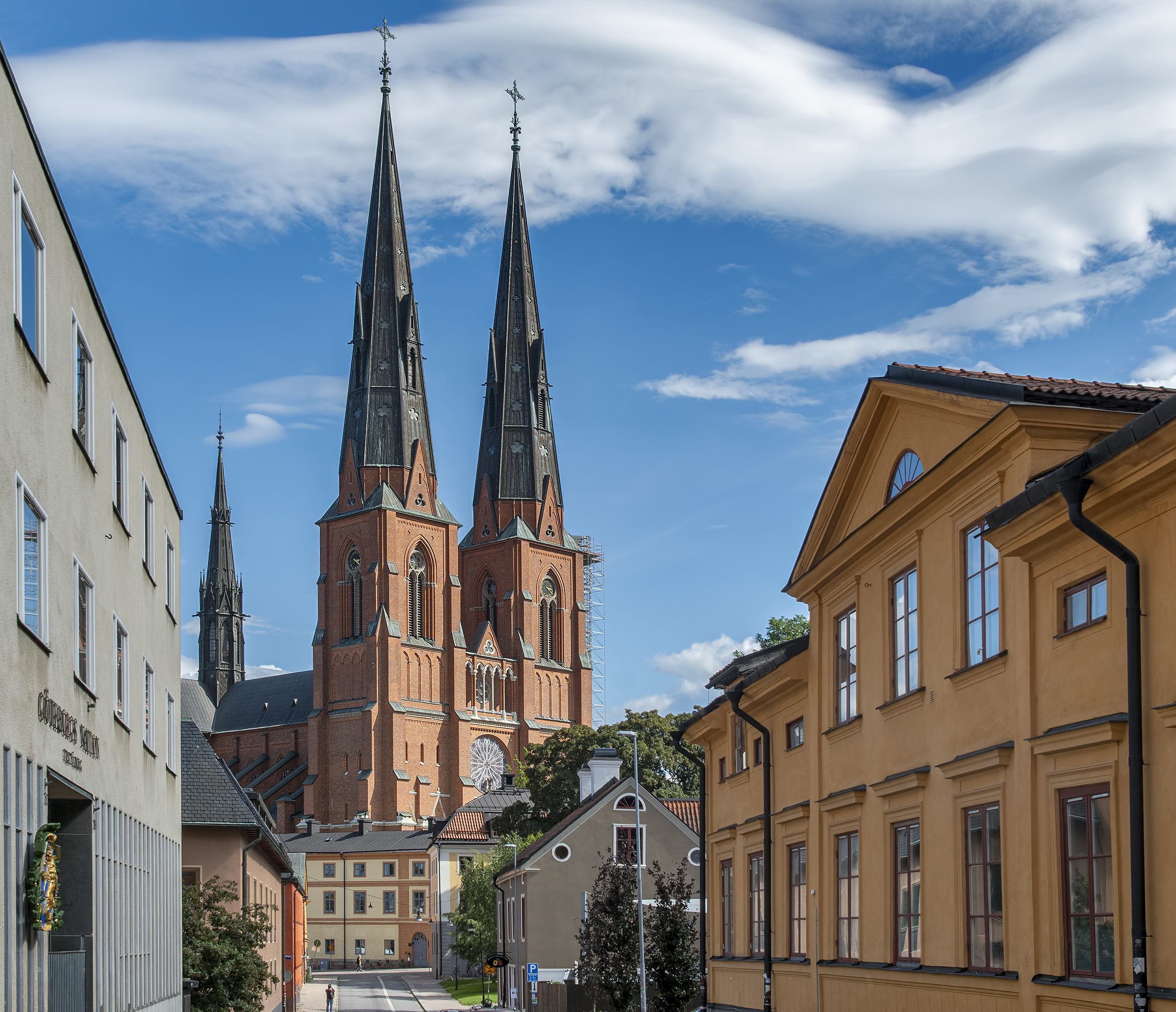 uppsala cathedral sweden