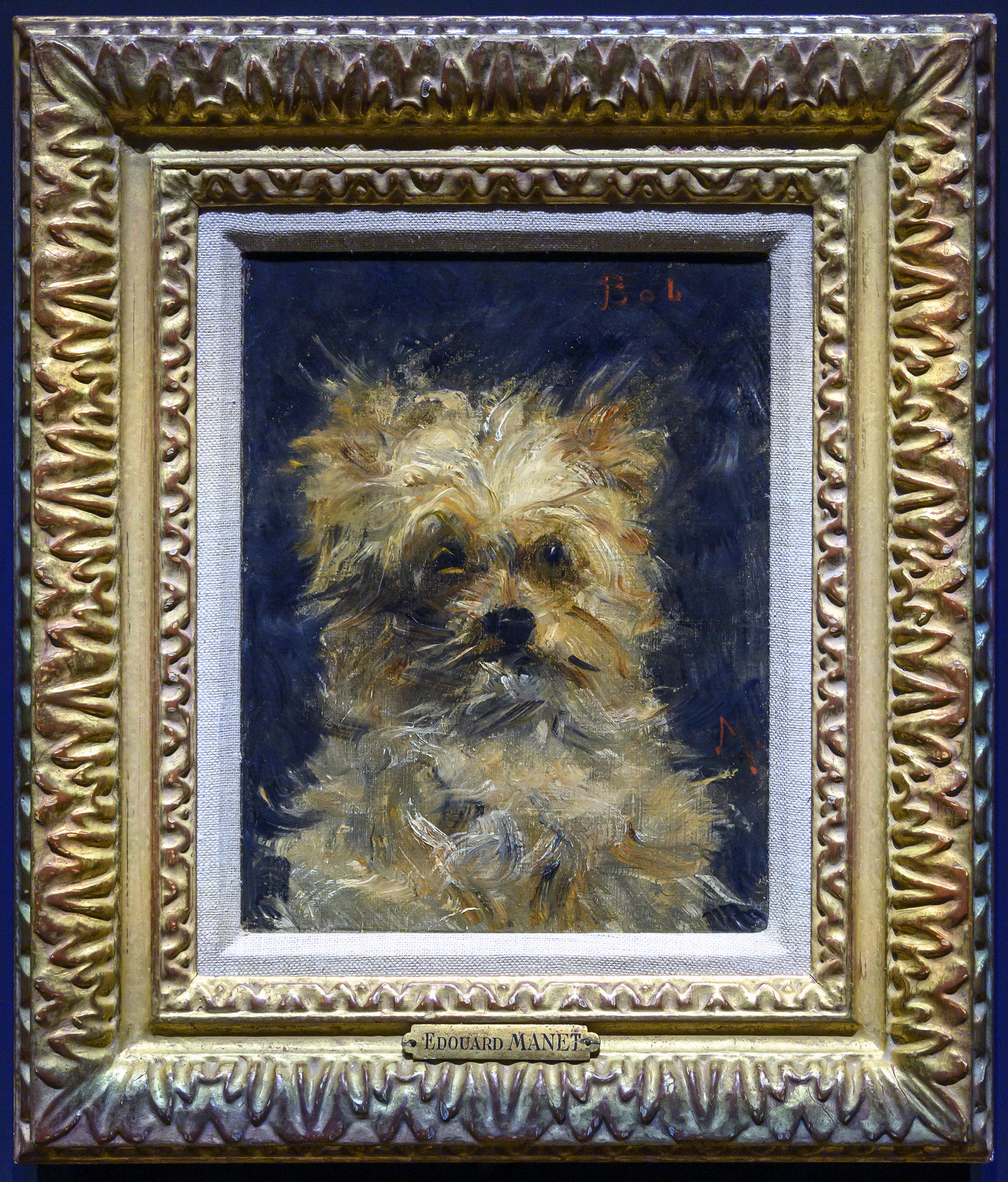 eduoard manet getty museum bob dog painting