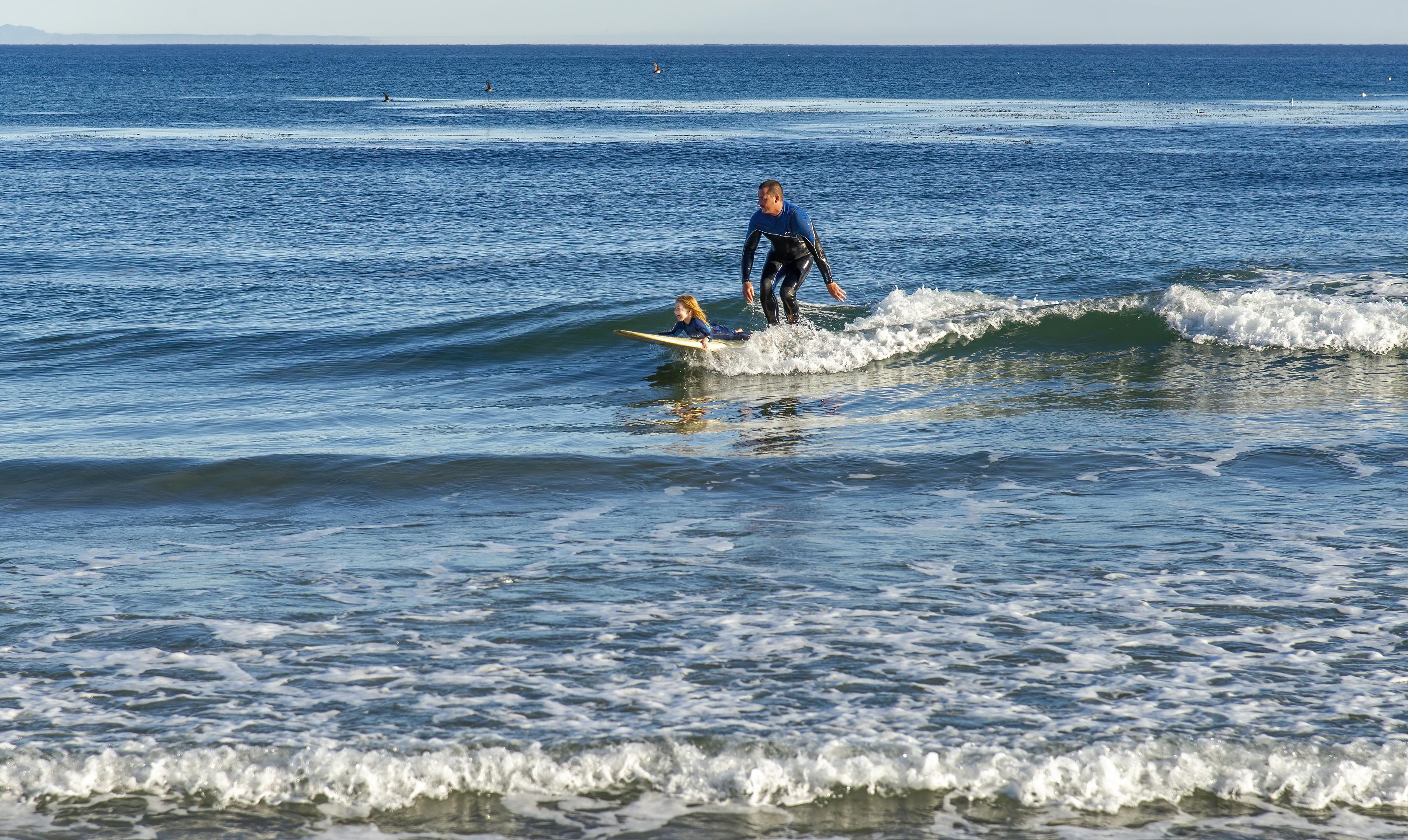 santa barbara surfing topaz denoise ai-denoise