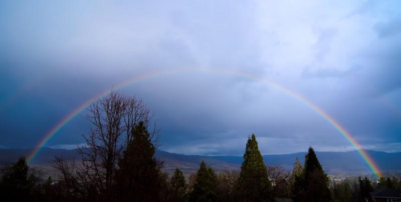 ashland oregon rainbow