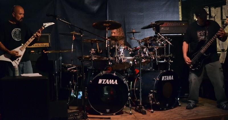 musichead Bill Ackerman sickened drums