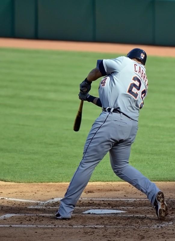 Miguel Cabrera swing detroit tigers