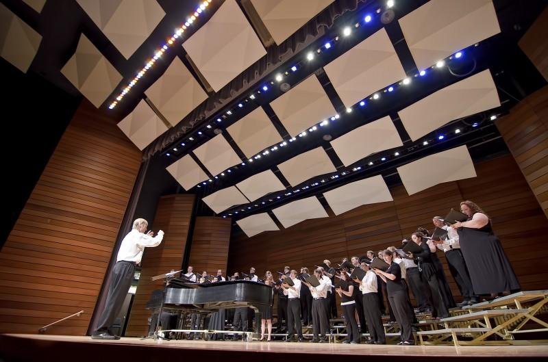 southern oregon university SOAR chamber choir music recital hall campus