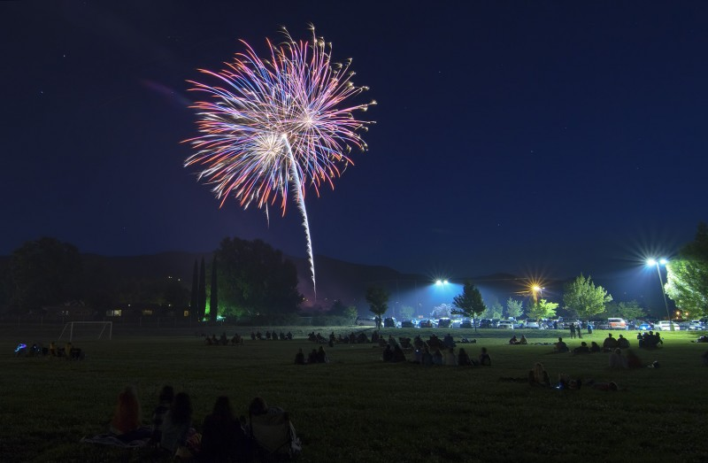 ashland oregon fireworks ashland middle school