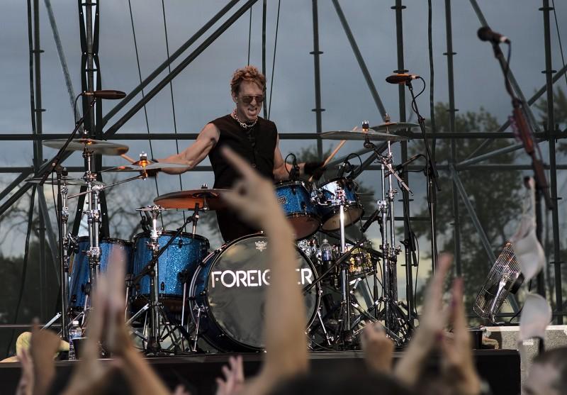 Mark Schulman foreigner drums