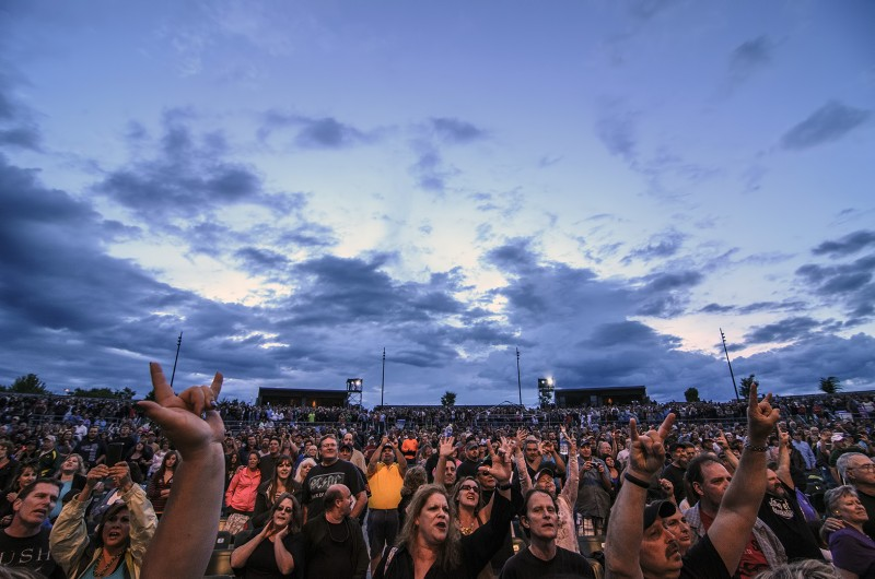 jackson county fair fans foreigner stormy skies