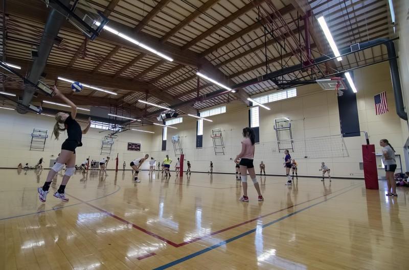 southern oregon university volleyball camp summer ashland middle school oregon