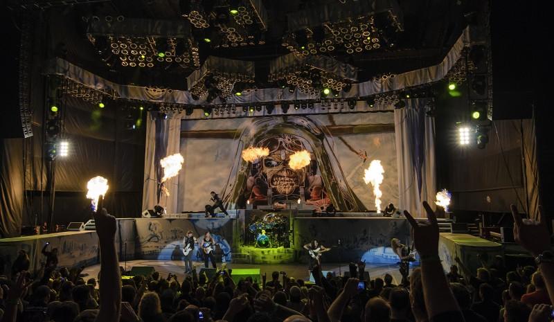 Iron Maiden England Tour 2012 Shoreline Amphitheater