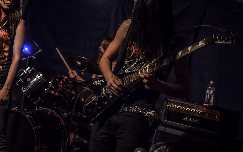 Blaspherion Necrokult guitar witch cult black metal oregon band