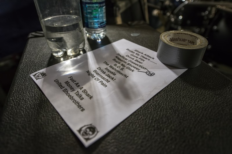 wehrmacht musichead setlist set list