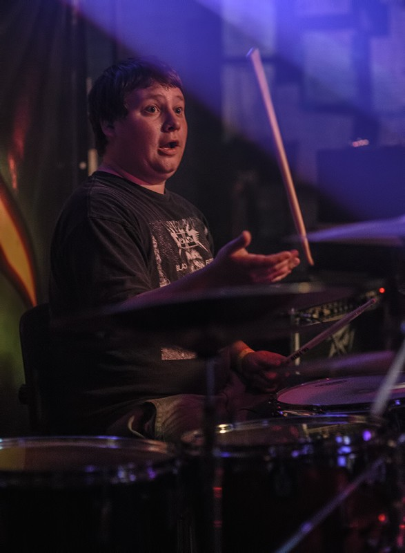 Brian Westbrook lich king musichead medford oregon drummer