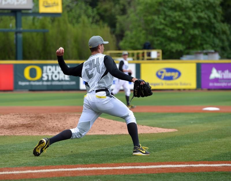 #24 Christian Jones oregon ducks osu baseball