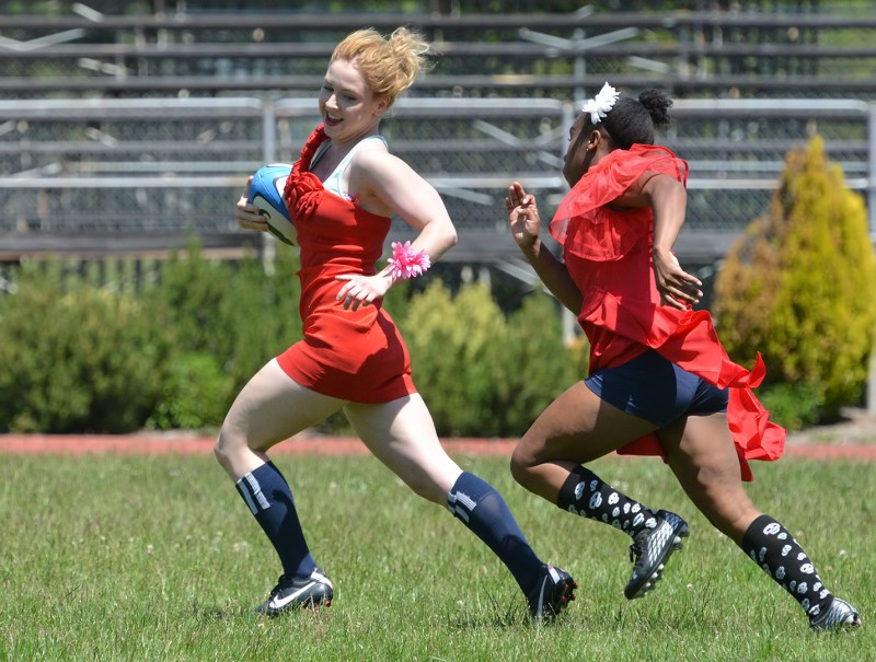 SOU prom dress rugby girls female women's rugby dresses