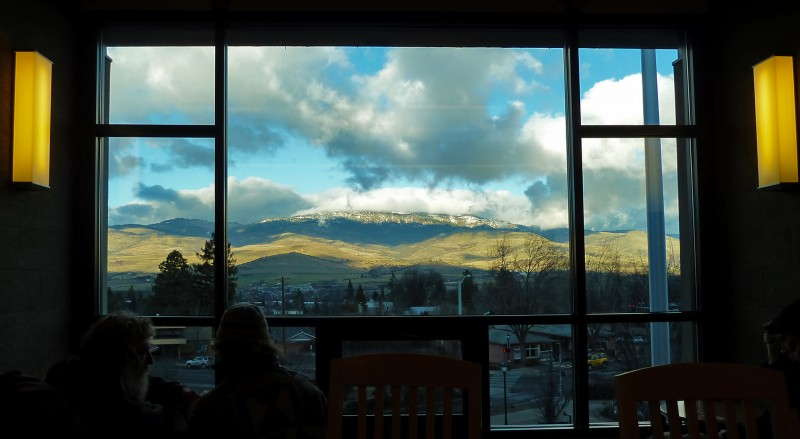 grizzly peak from ashland library