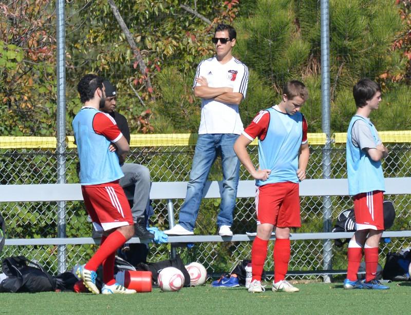 SOU Men's Soccer Club alfonso chavez southern oregon university