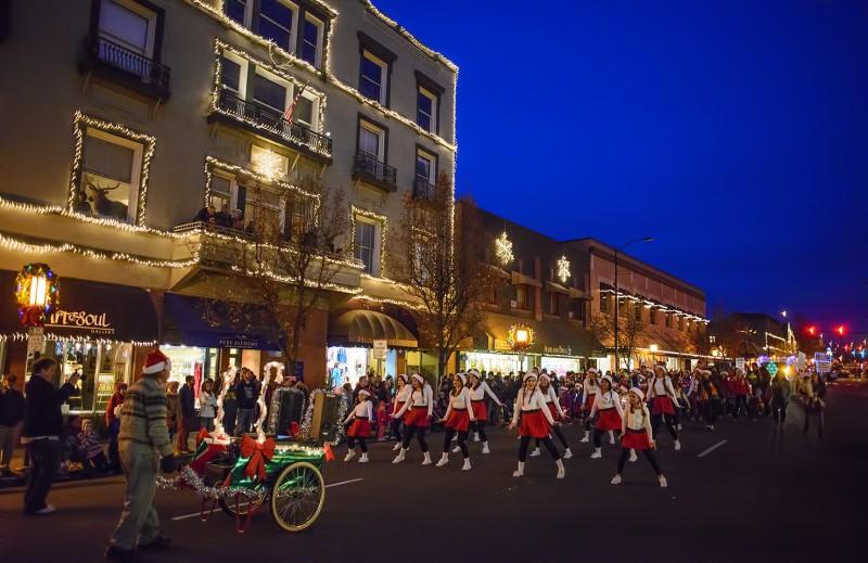 ashland danceworks festival of lights parade 2013 elks lodge
