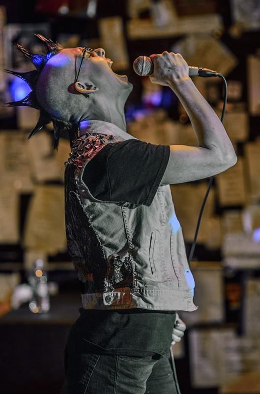 witch cult female lead singer mohawk musichead medford oregon
