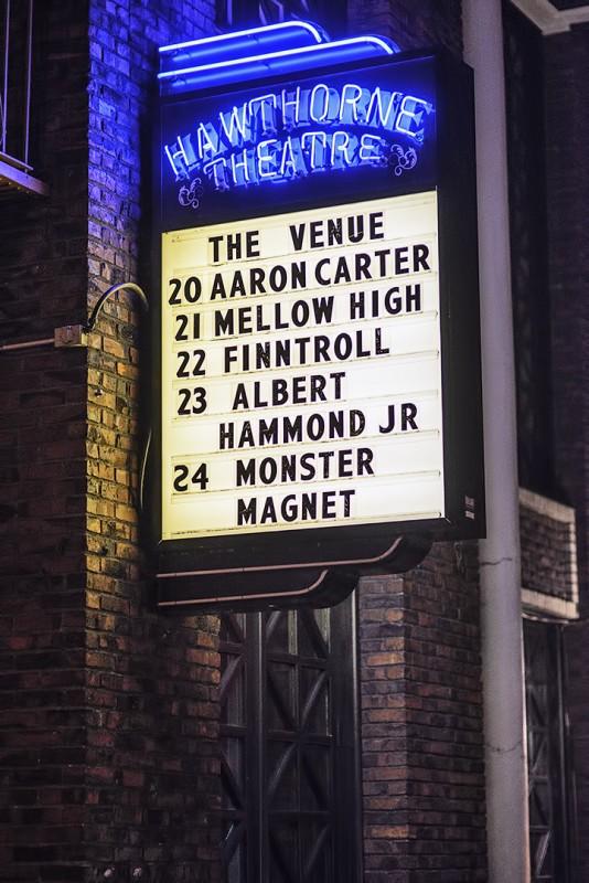 hawthorne theatre marquee fintroll